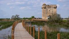 Le sentier d'accès à la Tour Carbonnière est temporairement fermé